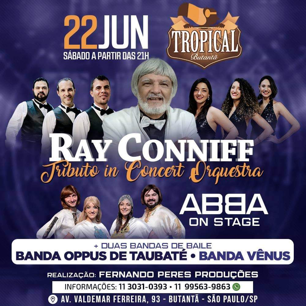 Ray Conniff Tributo e ABBA on stage