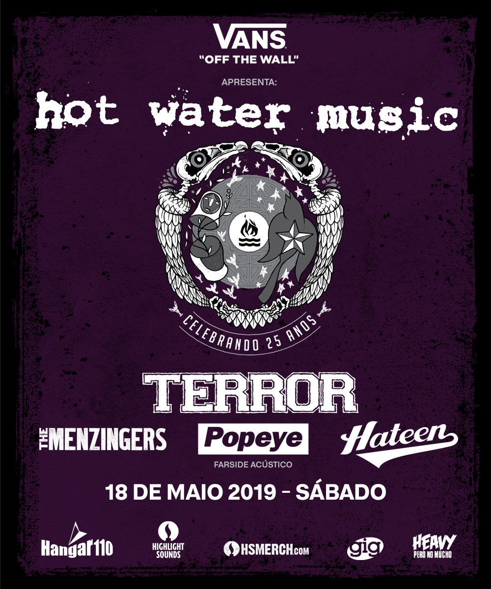 Hot Water Music, Terror e +