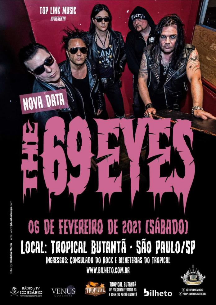 The 69 Eyes  TOUR 2021